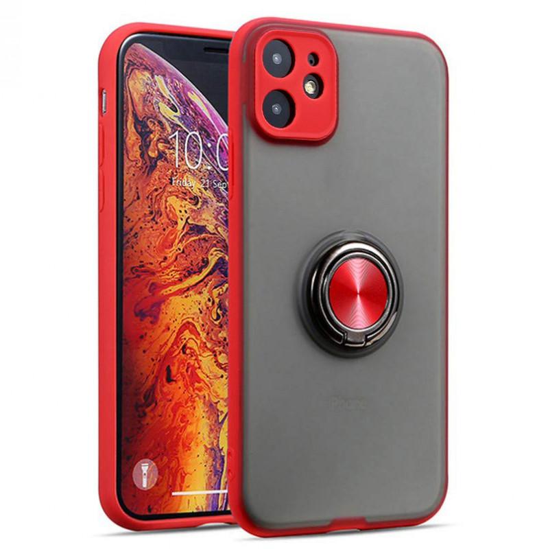 "TPU-PC чехол Deen Shadow Ring series для Apple iPhone 11 (6.1"")"