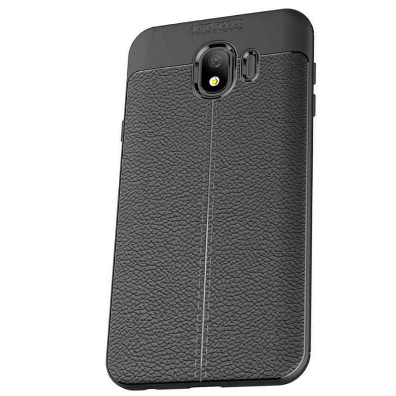 TPU чехол фактурный (с имитацией кожи) для Samsung J400F Galaxy J4 (2018)