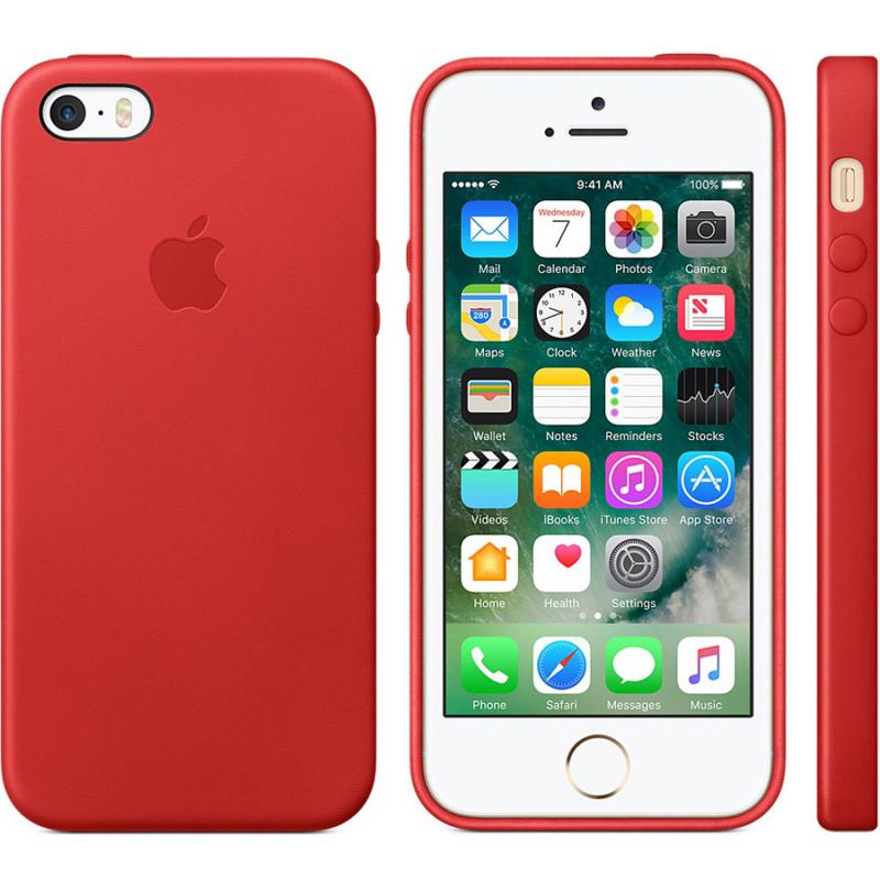 Чехол Silicone case (A) для Apple iPhone 5/5S/SE