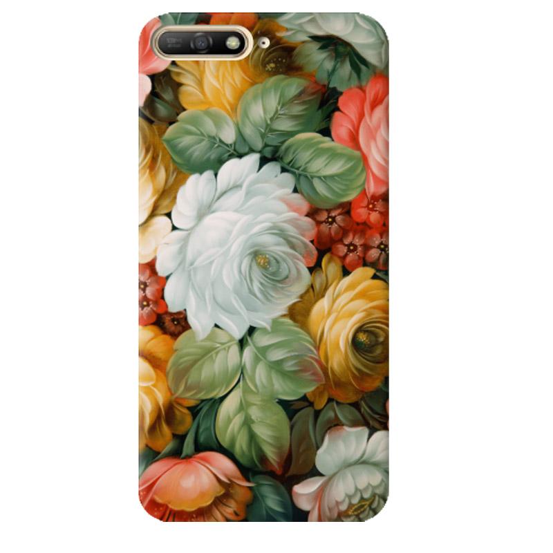 Чехол Spring Bouquet для Huawei Y6 (2018)