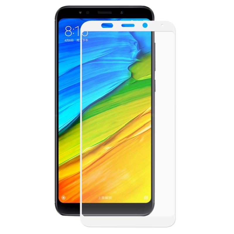 Защитное стекло 2.5D CP+ на весь экран (цветное) для Xiaomi Redmi 5 Plus