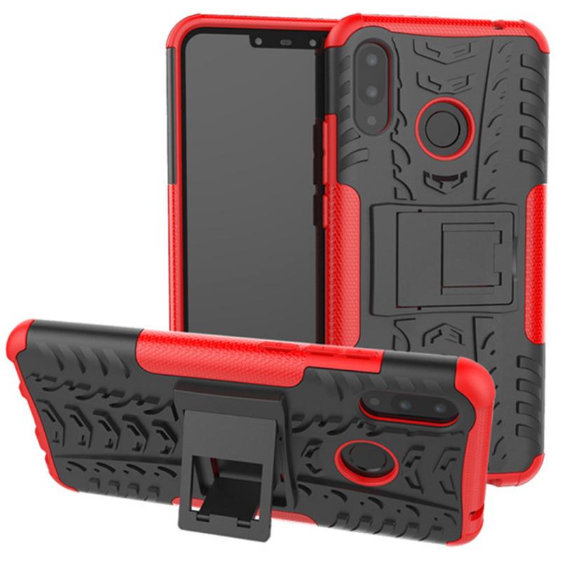 Противоударный двухслойный чехол Shield для Huawei P Smart+ (nova 3i)