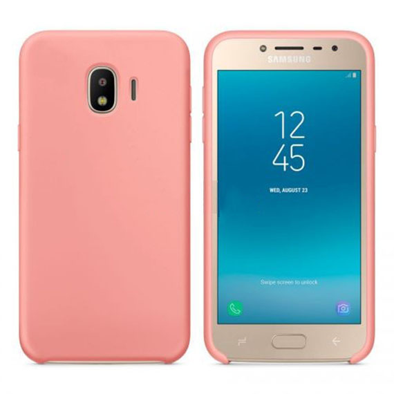 Чехол Silicone Cover without Logo (AA) для Samsung J250F Galaxy J2 Pro (2018)