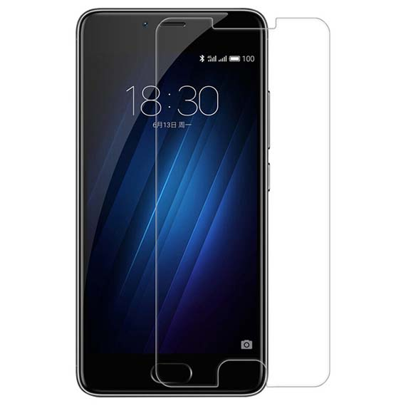Защитное стекло Ultra 0.33mm для Meizu M6 Note (картонная упаковка)