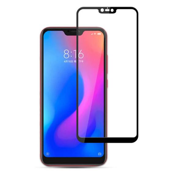 Защитное цветное стекло Mocolo (full glue) на весь экран для Xiaomi Redmi Note 6 Pro