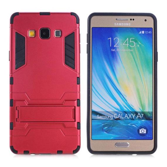 Ударопрочный чехол-подставка Transformer для Samsung A700H/A700F Galaxy A7 с мощной защитой корпуса