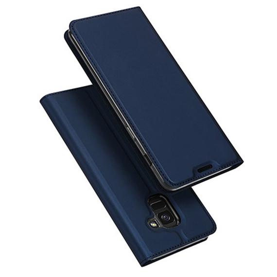 Чехол-книжка Dux Ducis с карманом для визиток для Samsung J600F Galaxy J6 (2018)
