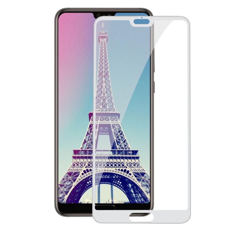 Защитное цветное стекло Mocolo (full glue) на весь экран для Huawei P20 Pro
