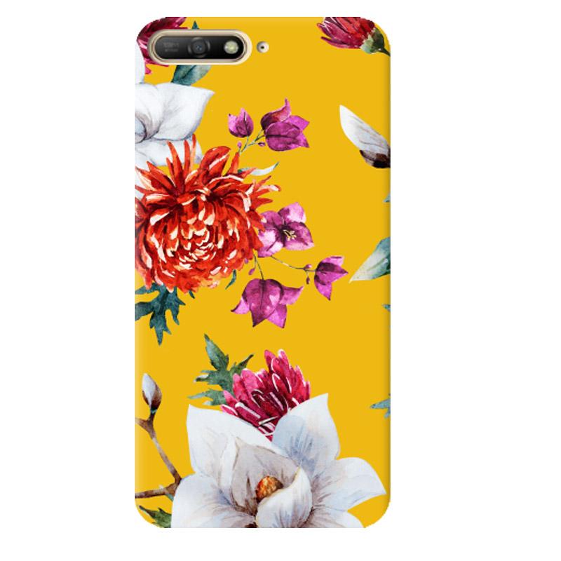 Чехол Flowers On The Sun для Huawei Y6 (2018)