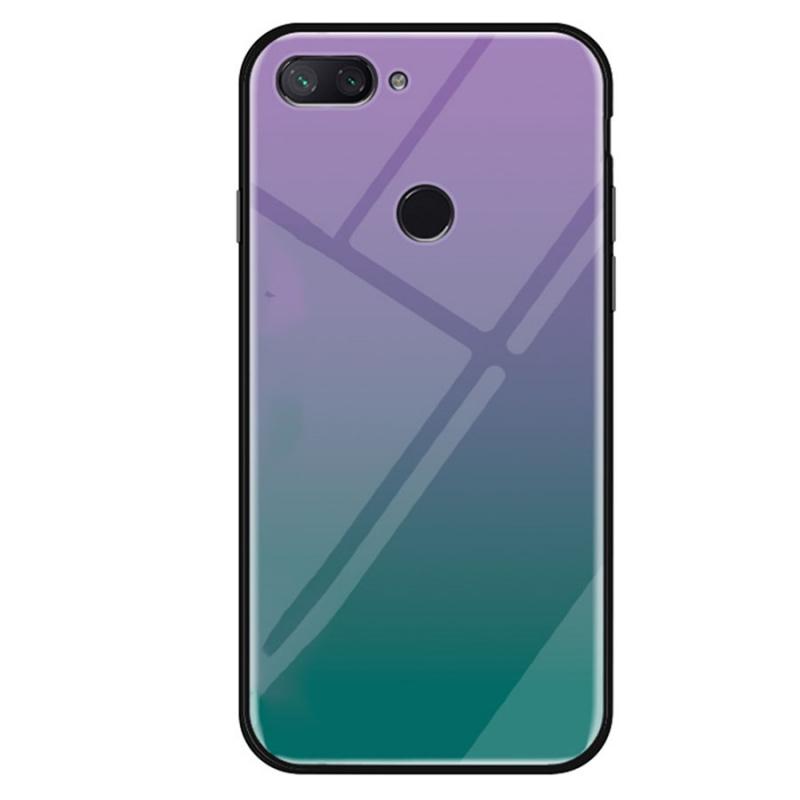 TPU+Glass чехол Gradient series для Xiaomi Mi 8 Lite / Mi 8 Youth (Mi 8X)