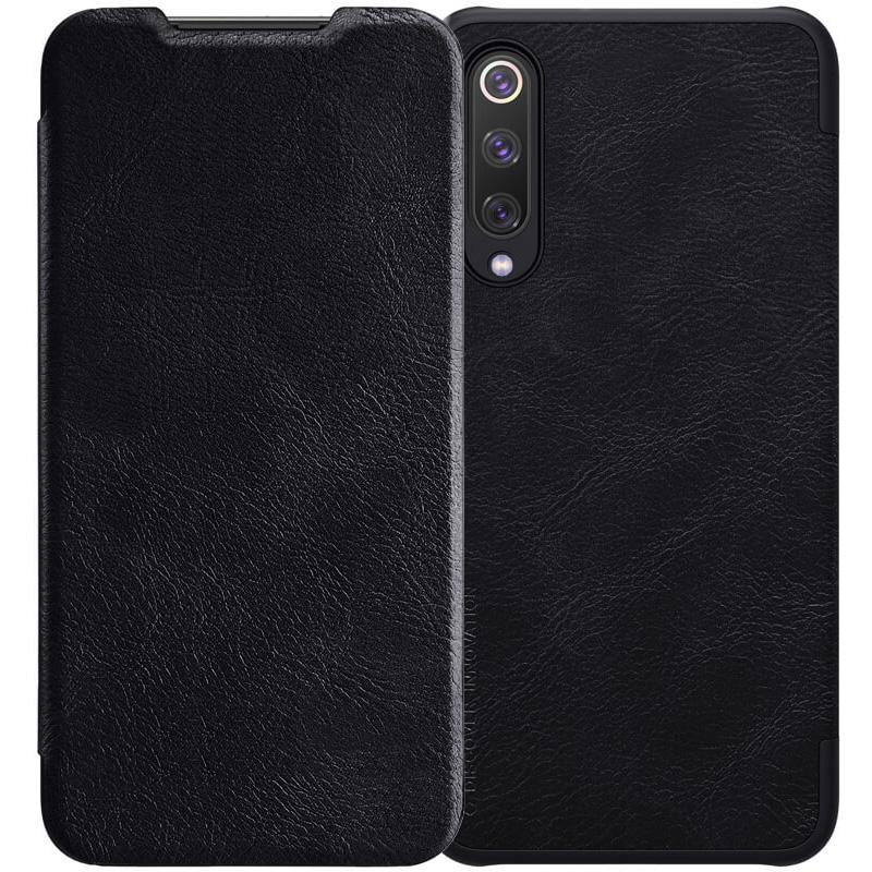 Кожаный чехол (книжка) Nillkin Qin Series для Xiaomi Mi 9 SE