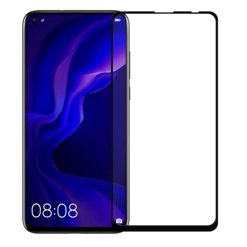 Защитное цветное стекло Mocolo (full glue) на весь экран для Huawei Mate 30 Lite