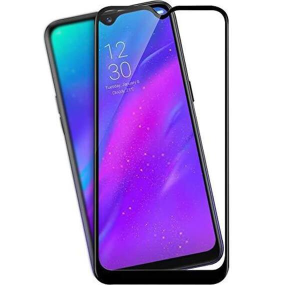 Защитное цветное стекло Mocolo (full glue) на весь экран для Vivo Y15