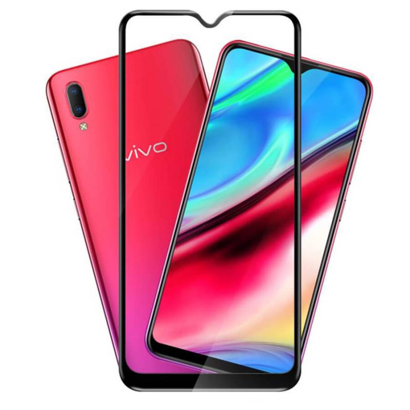 Защитное цветное стекло Mocolo (full glue) на весь экран для Vivo Y93
