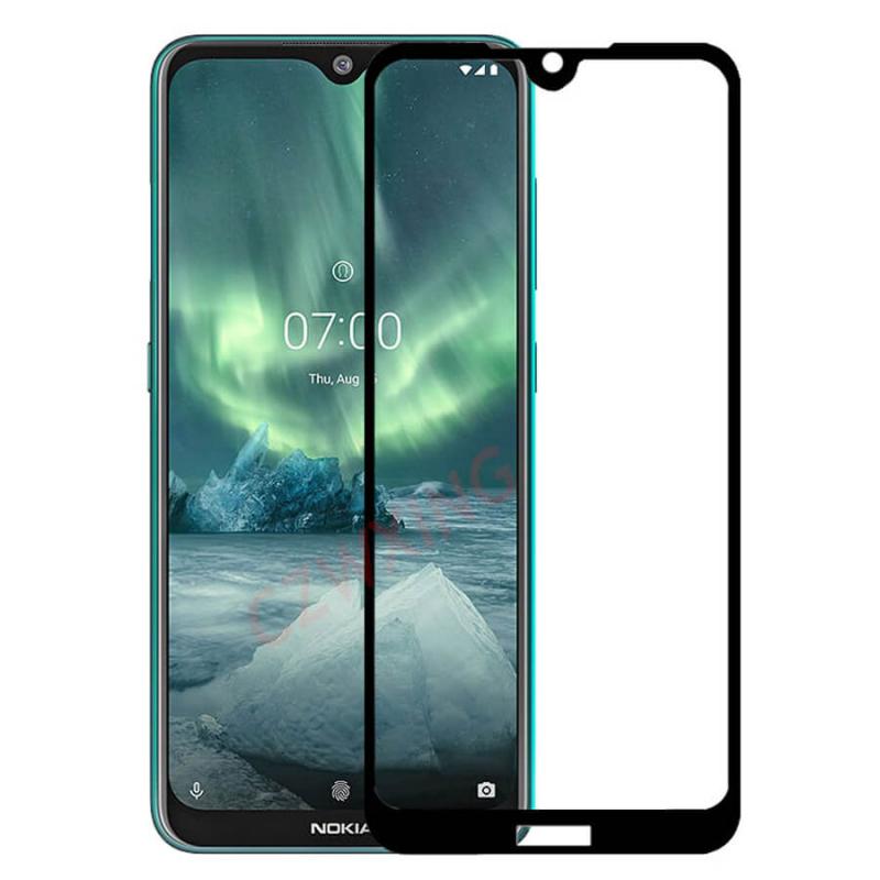 Защитное цветное стекло Mocolo (full glue) на весь экран для Nokia 6.2