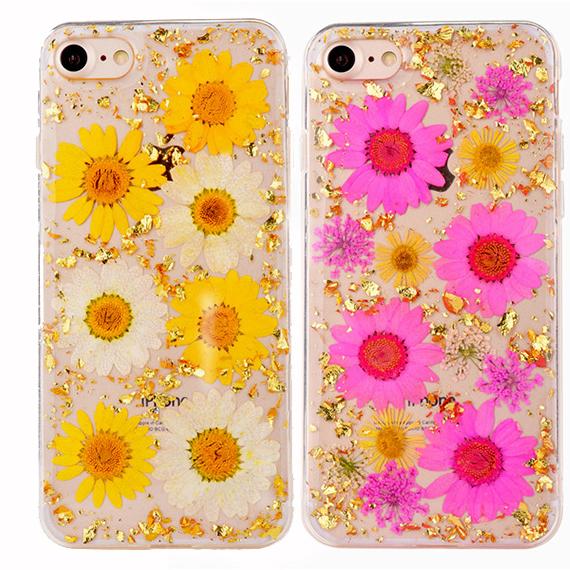 "TPU чехол ""Flowers and tinsel "" для Apple iPhone 8 (4.7"")"