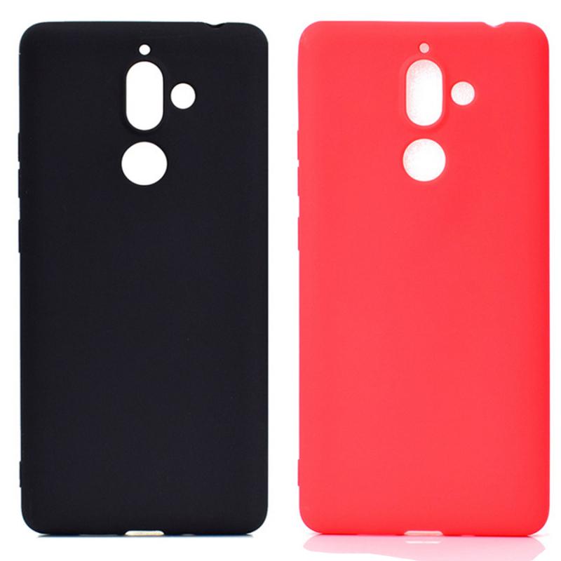 Силиконовый чехол Candy для Nokia 7 plus