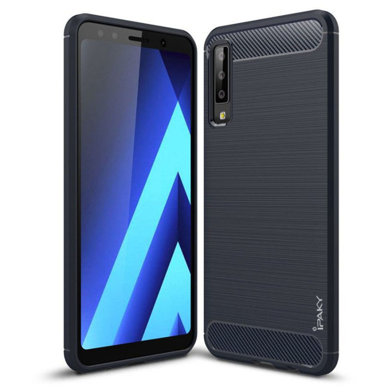 TPU чехол iPaky Slim Series для Samsung A750 Galaxy A7 (2018)