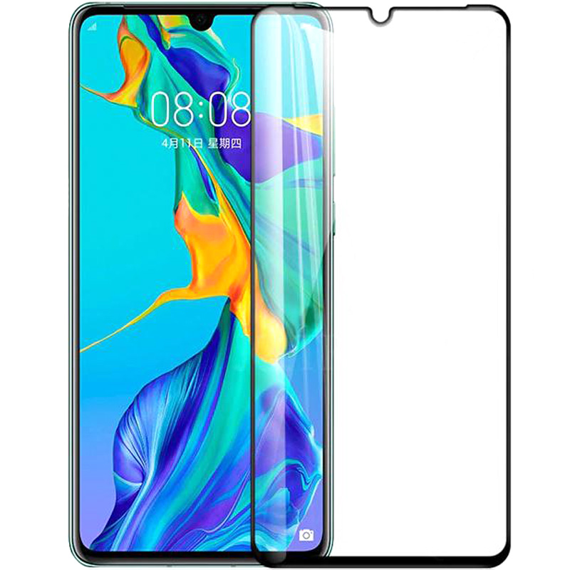 Защитное цветное 3D стекло Mocoson (full glue) для Huawei P30 Pro