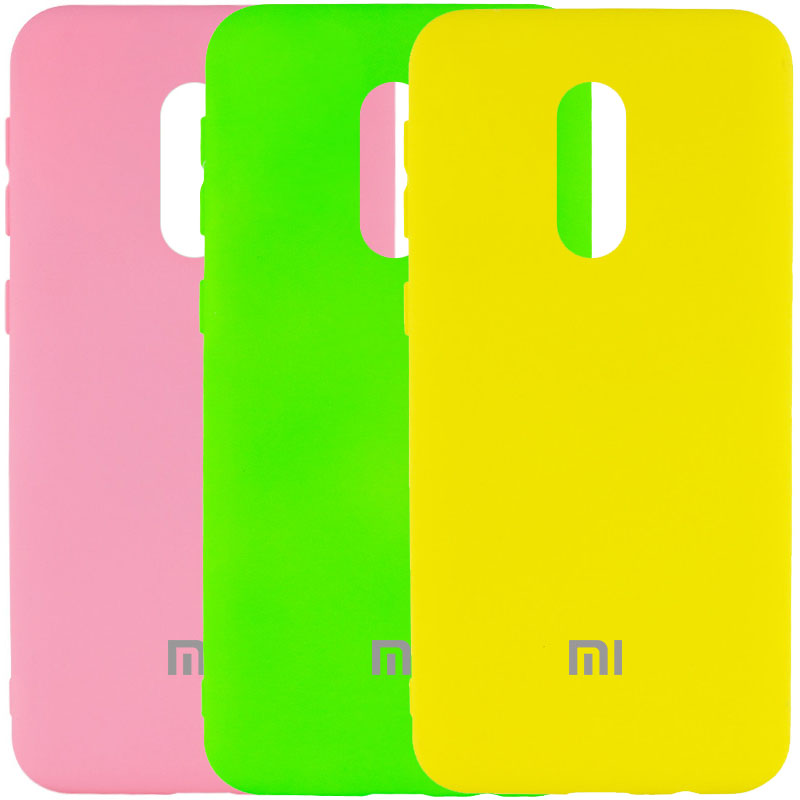 Чехол Silicone Cover My Color Full Protective (A) для Xiaomi Redmi Note 4X / Note 4 (Snapdragon)