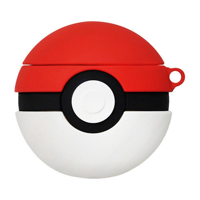 Силиконовый футляр Pokemon series для наушников AirPods + кольцо