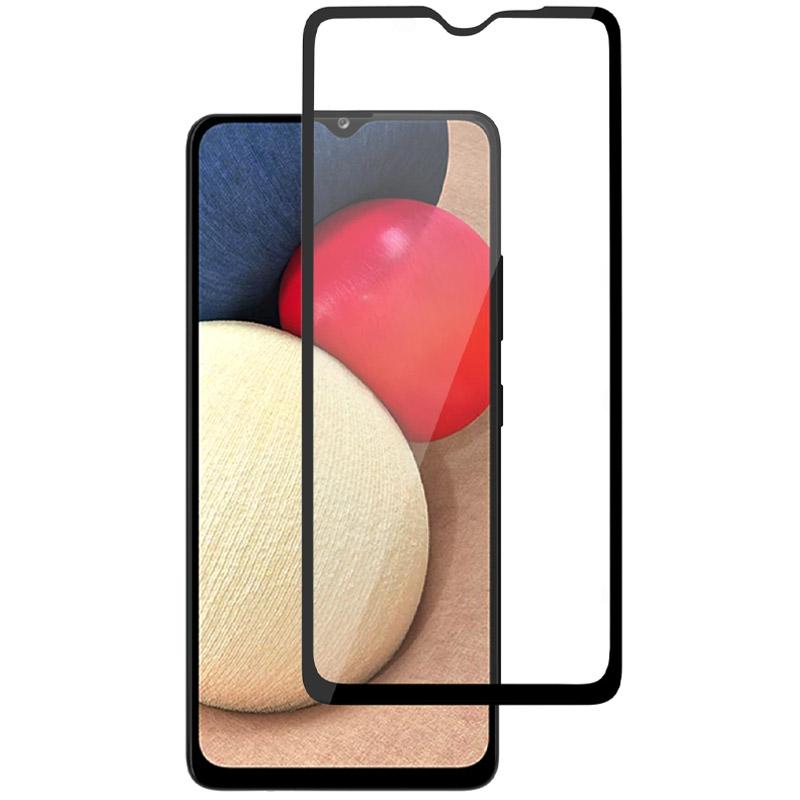Защитное стекло XD+ (full glue) (тех.пак) для Samsung Galaxy A02s / A02 / M02s / M02 / A12 / M12