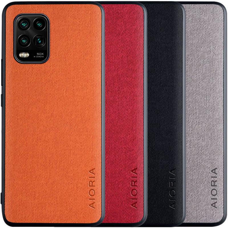 Чехол AIORIA Textile PC+TPU для Xiaomi Mi 10 Lite