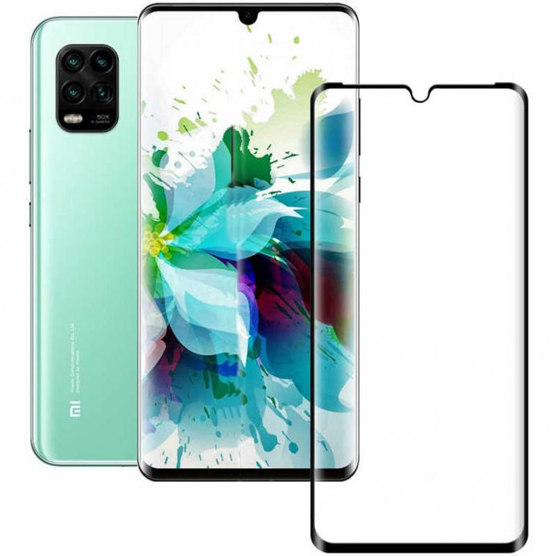 Защитное стекло XD+ (full glue) (тех.пак) для Xiaomi Mi 10 Lite