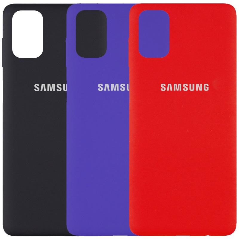 Чехол Silicone Cover Full Protective (AA) для Samsung Galaxy M51