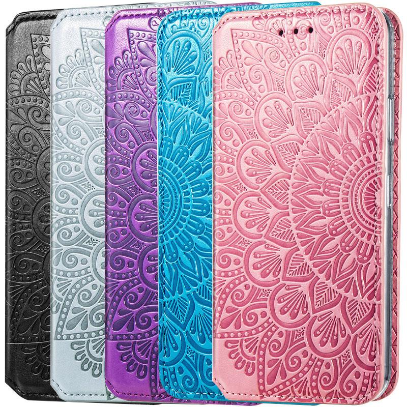 Кожаный чехол книжка GETMAN Mandala (PU) для Xiaomi Poco X3 NFC / Poco X3 Pro