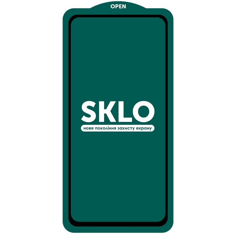 Защитное стекло SKLO 5D (full glue) для Xiaomi Redmi Note 9 Pro / Note 9 Pro Max