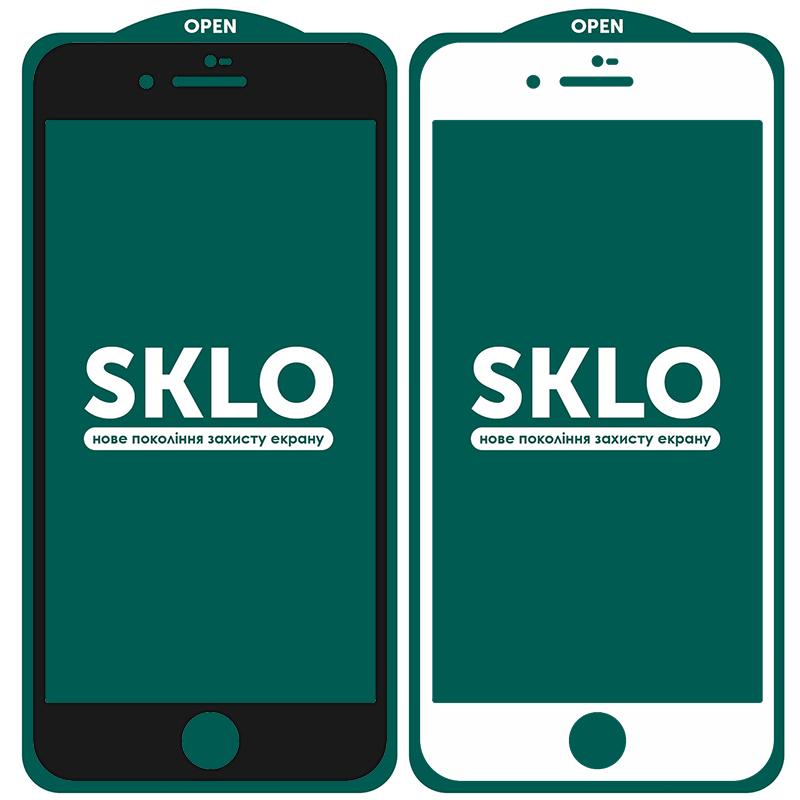 "Защитное стекло SKLO 5D (full glue) для Apple iPhone 7 / 8 / SE (2020) (4.7"")"
