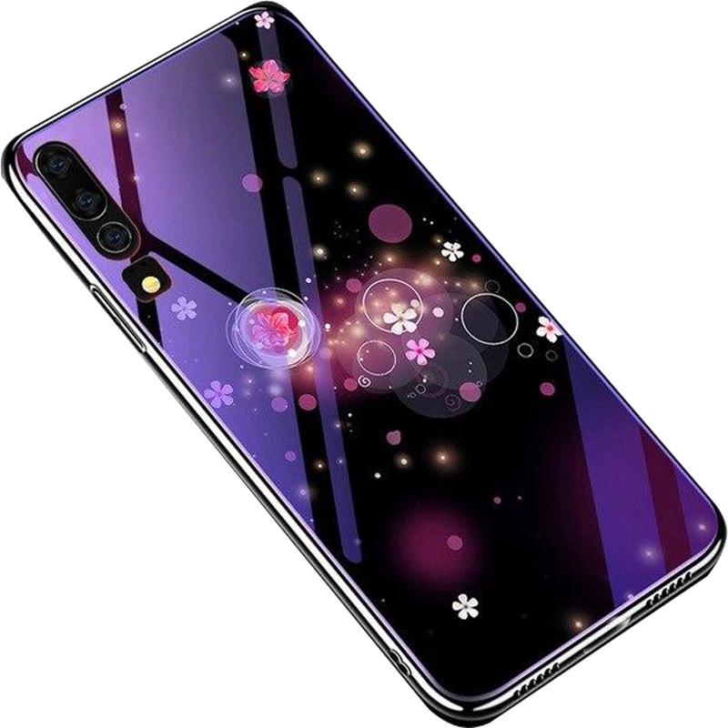 TPU+Glass чехол Fantasy с глянцевыми торцами для Huawei P30