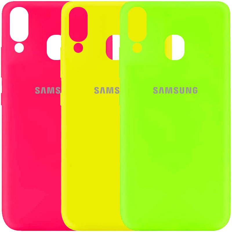 Чехол Silicone Cover My Color Full Protective (A) для Samsung Galaxy A40 (A405F)