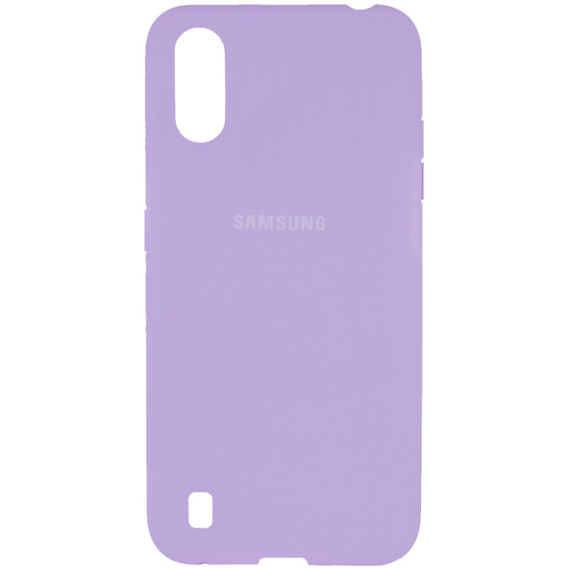 Чехол Silicone Cover Full Protective (AA) для Samsung Galaxy A01