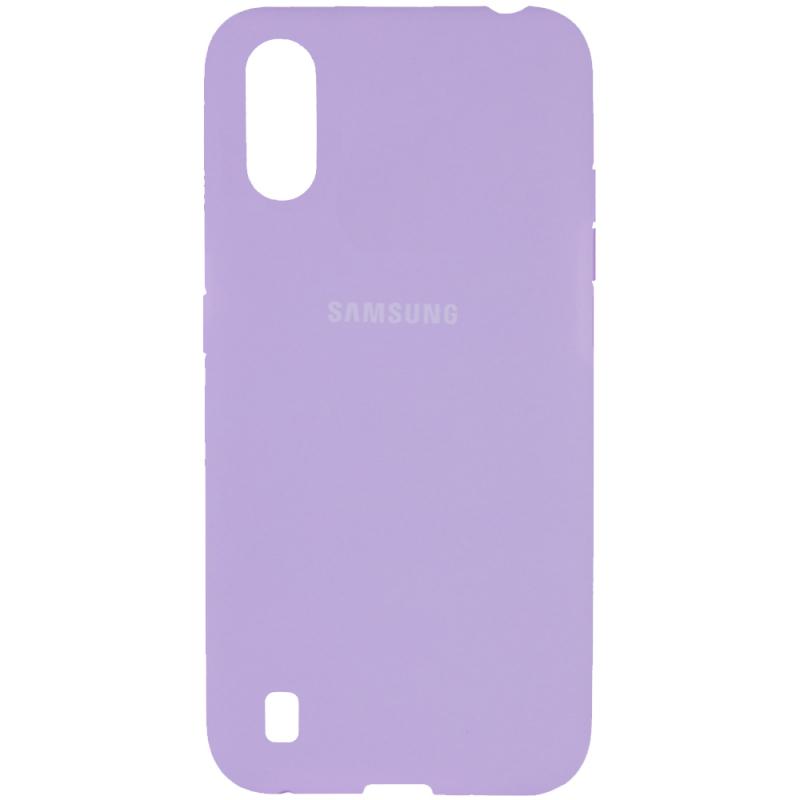 Чехол Silicone Cover Full Protective (AA) для Samsung Galaxy A01