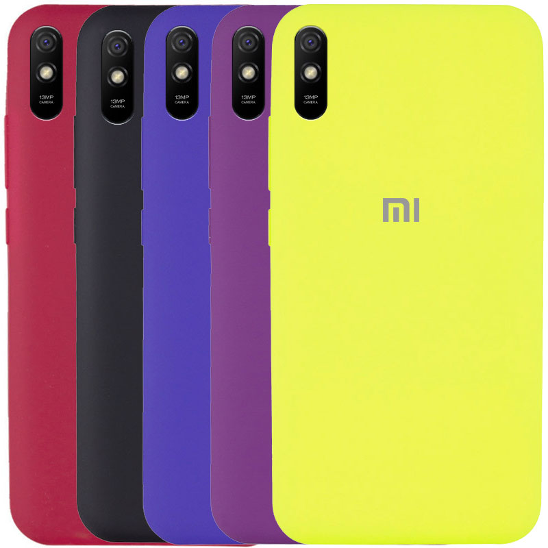 Чехол Silicone Cover Full Protective (AA) для Xiaomi Redmi 9A