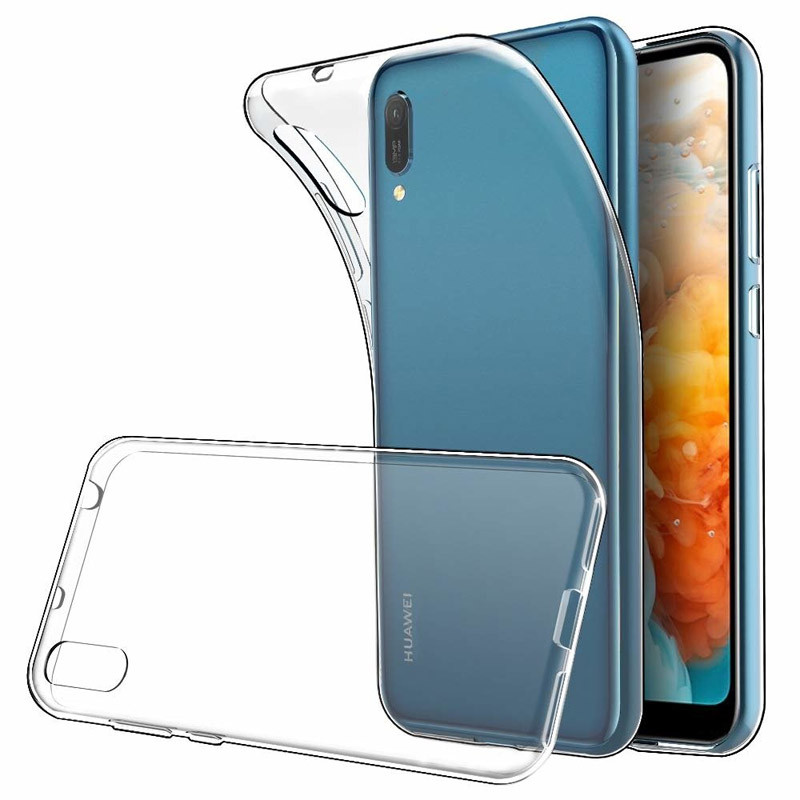 TPU чехол Epic Transparent 2,00 mm для Huawei Y6 Pro (2019)