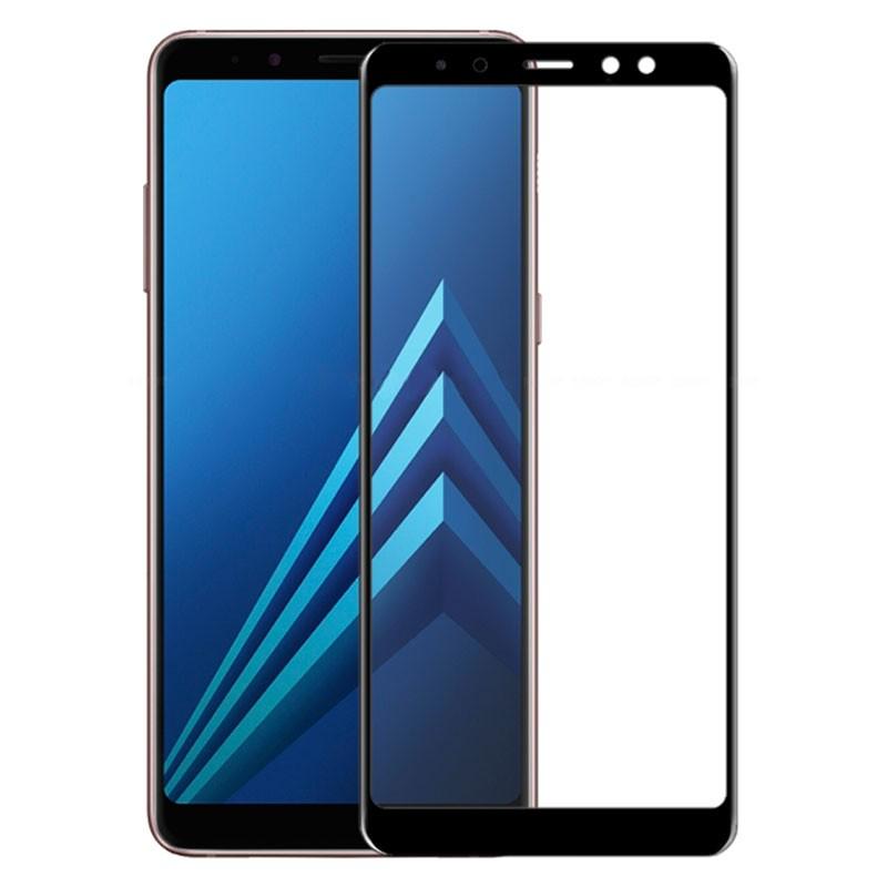 Защитное стекло 2.5D CP+ (full glue) для Samsung Galaxy A6 (2018)