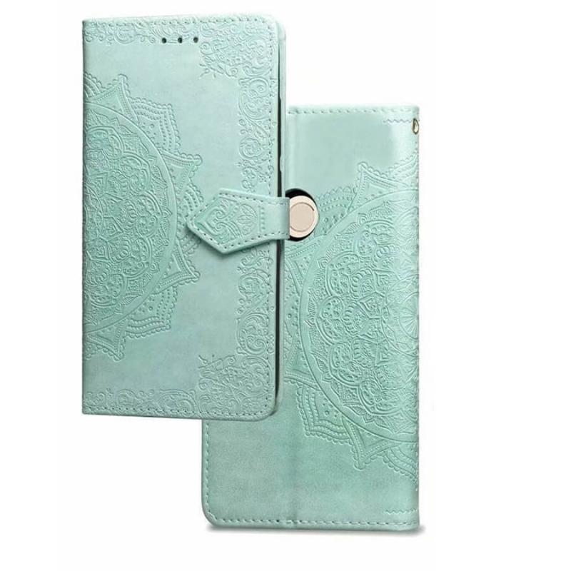 Кожаный чехол (книжка) Art Case с визитницей для Xiaomi Redmi 4X