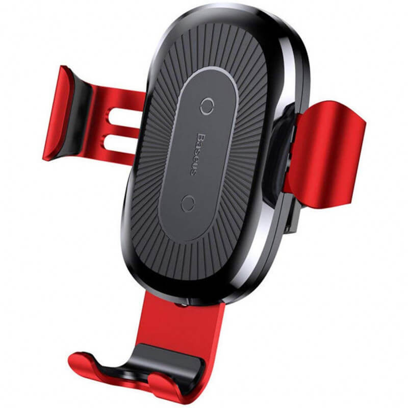Автодержатель с БЗУ Baseus Wireless Charger Gravity Car Mount Air Outlet Version 1.67A 10W