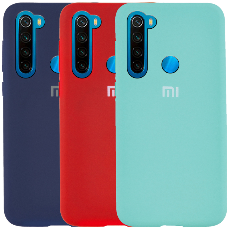 Чехол Silicone Cover Full Protective (AA) для Xiaomi Redmi Note 8