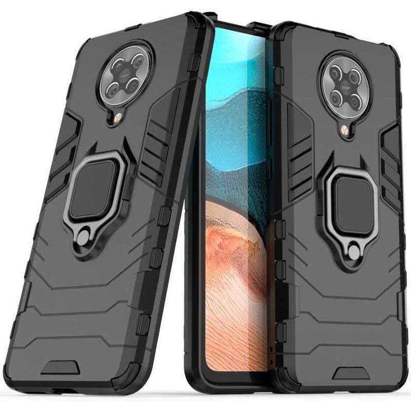 Ударопрочный чехол Transformer Ring for Magnet для Xiaomi Redmi K30 Pro / Poco F2 Pro