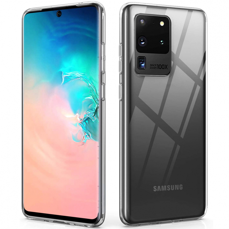 TPU чехол Epic Transparent 1,0mm для Samsung Galaxy S20 Ultra