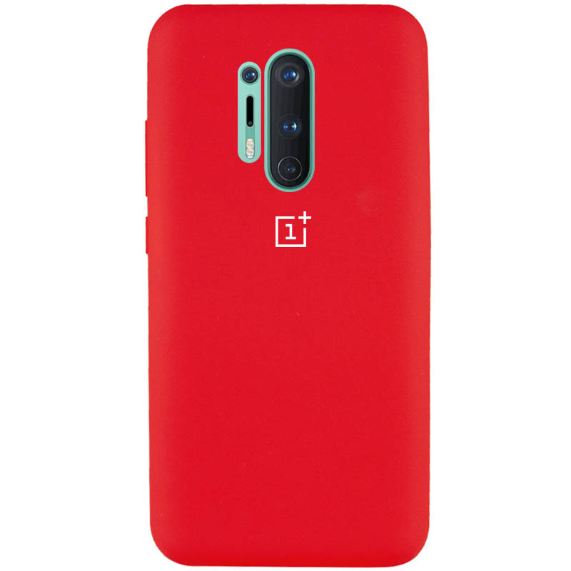 Чехол Silicone Cover Full Protective (AA) для OnePlus 8 Pro