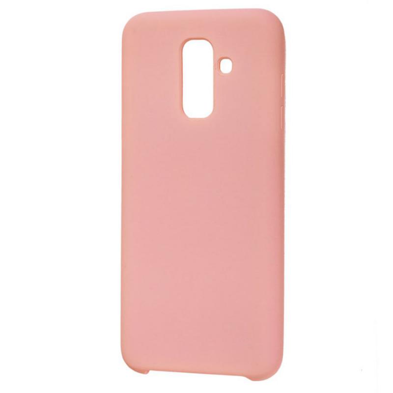 Силиконовый чехол Soft cover для Samsung Galaxy A6 Plus (2018)