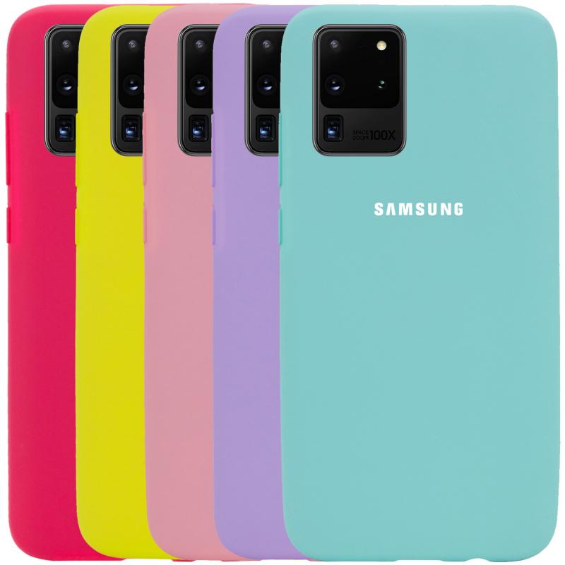 Чехол Silicone Cover Full Protective (AA) для Samsung Galaxy S20 Ultra