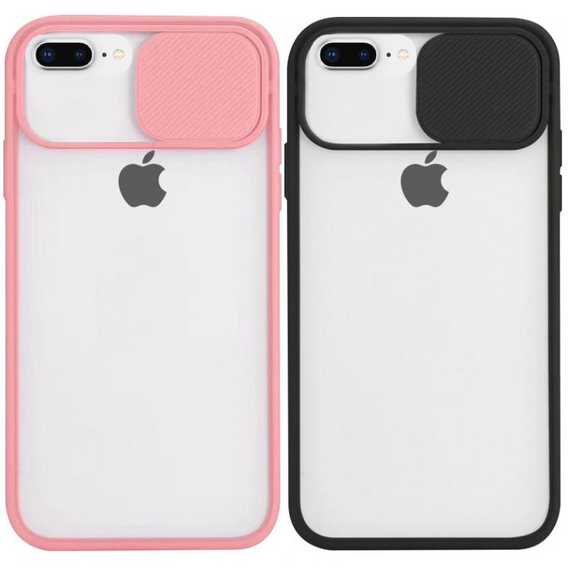 "Чехол Camshield mate TPU со шторкой защищающей камеру для Apple iPhone 8 plus (5.5"")"