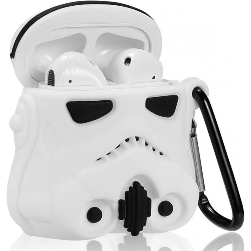 Силиконовый футляр Star Wars Force для наушников AirPods + карабин