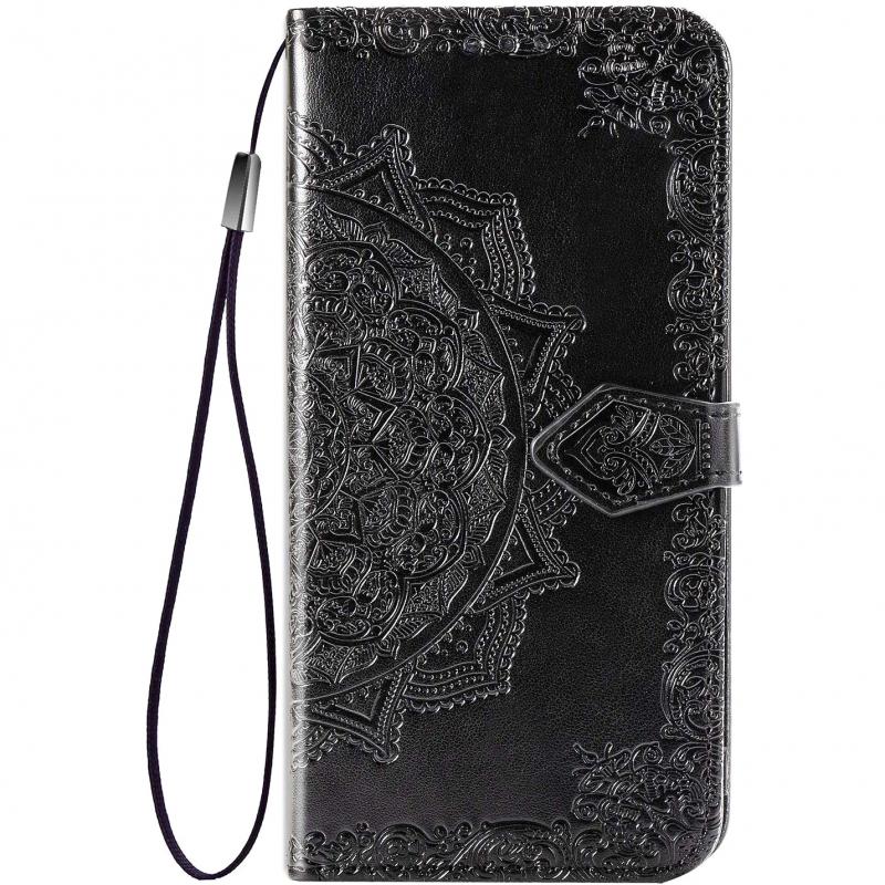 Кожаный чехол (книжка) Art Case с визитницей для Realme C11